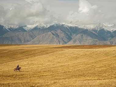 Uzbekistan and Northern Kyrgyzstan